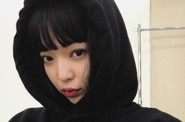 可愛い顔の田中芽衣